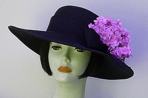 "Black 4"" Picture/Lilac"