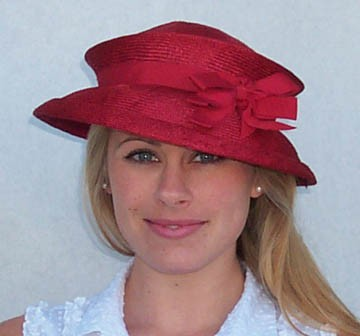 Red Travel Hat