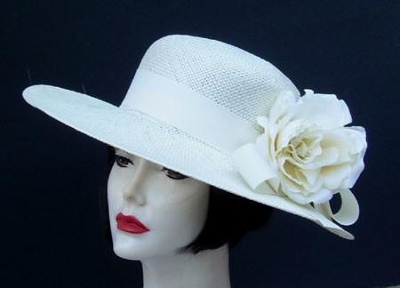 "Ivory Sisal 4"" Picture/Cream Rose"