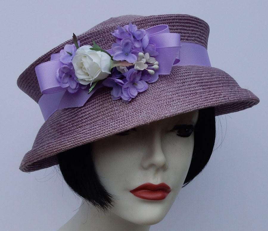 Lavender Travel Hat
