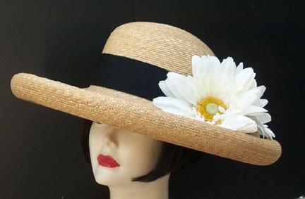 Large Milan Sun Hat/Daisy
