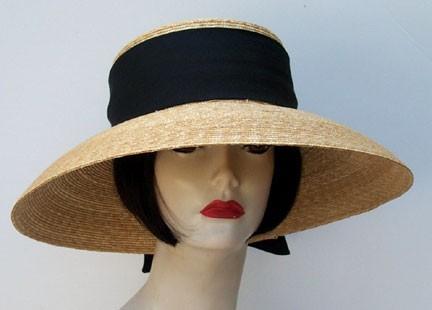 Lg Brim Milan Sun Hat