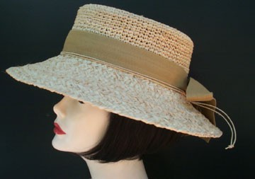 Raffia Small Picture/Khaki