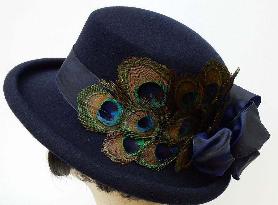 Navy Derby-Peacock