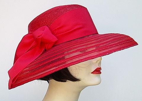 Red Milan Sheer/Red