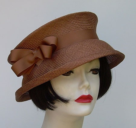 Travel Hat-Brown