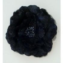 Flower Pin/Black