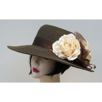 "Brown 4"" Picture/Rose"