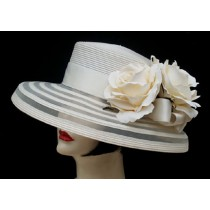 "Ivory Sheer 3"" Down/Cream Rose"