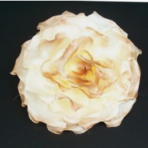 Flower Pin/Cream/Tan