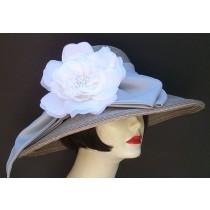 """Grey Milan 5""""/White Rose"""