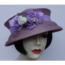 Lavender Travel Hat
