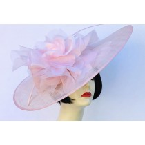 Light Pink Large Fascinator