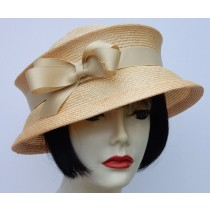 Pale Yellow Travel Hat