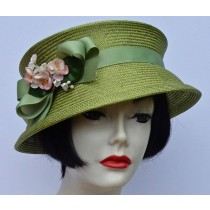 Lime Green Travel Hat