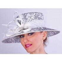 Off-White-Black Geometric Hat