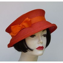 Orange Travel Hat