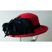 Red Breton/ Black Feathers