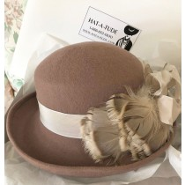 Taupe Winter Hat