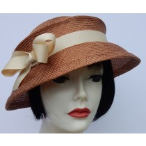 Tobacco Brown Travel Hat
