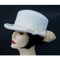 Winter White Derby/Tassel