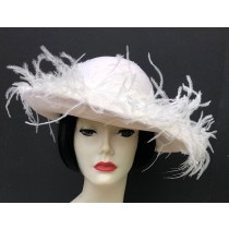 Winter White Picture - Flared Brim